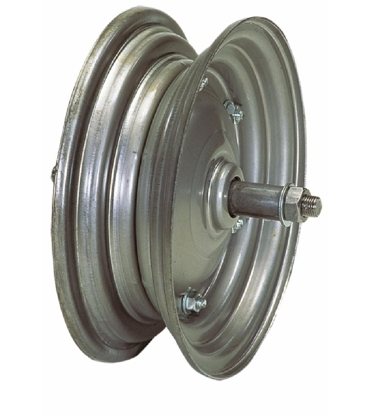 00327-WHEEL-DISC-COMPLETE-WITH-THROUGH-AXLE