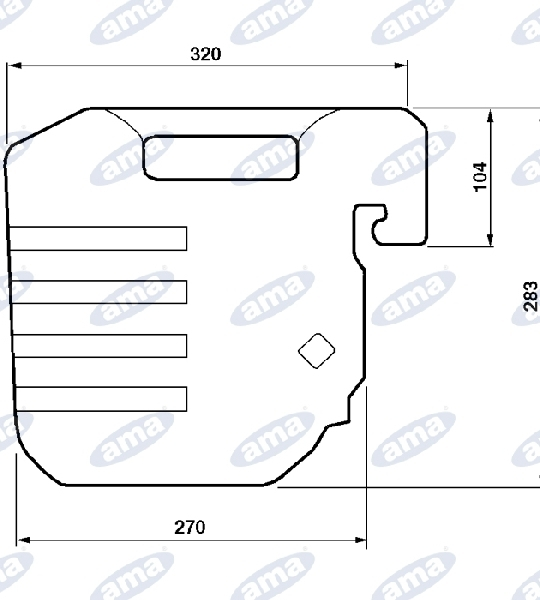 00422-BALLAST-OF-28-KG-ADAPTABLE-TO-REF-1424992M1