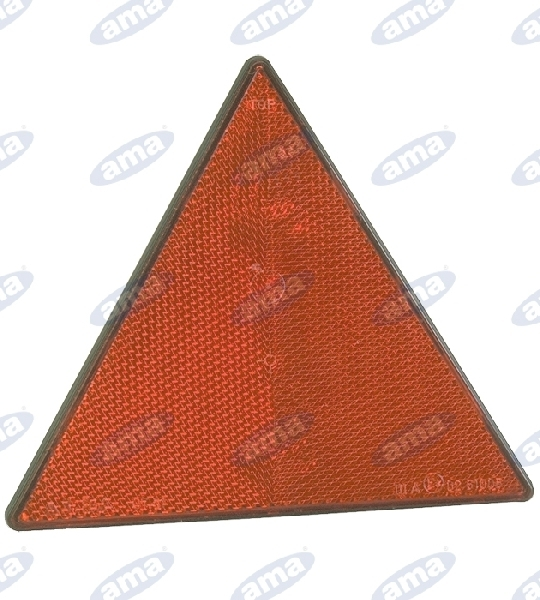 00426-RED-TRIANGULAR-REFLECTOR-WITH-SCREWS