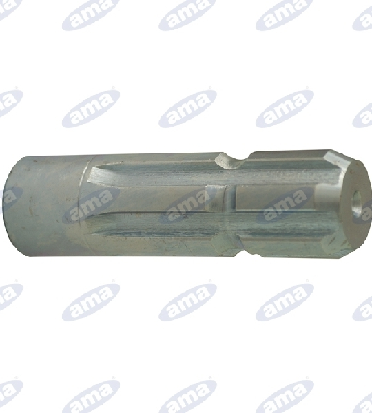 GROOVED PIN, PROFILE 21X25X5, L = 100 MM