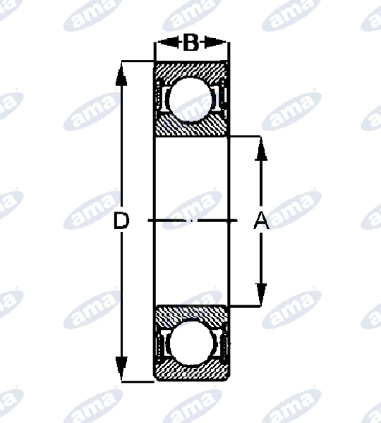 16243-RADIAL-BALL-BEARING-TYPE-6309-2RS
