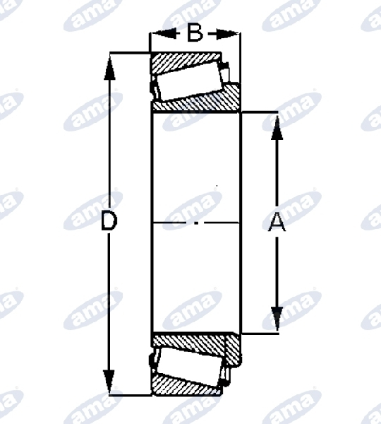 58392-TAPERED-ROLLER-BEARINGS-ADAPTABLE-TO-32308