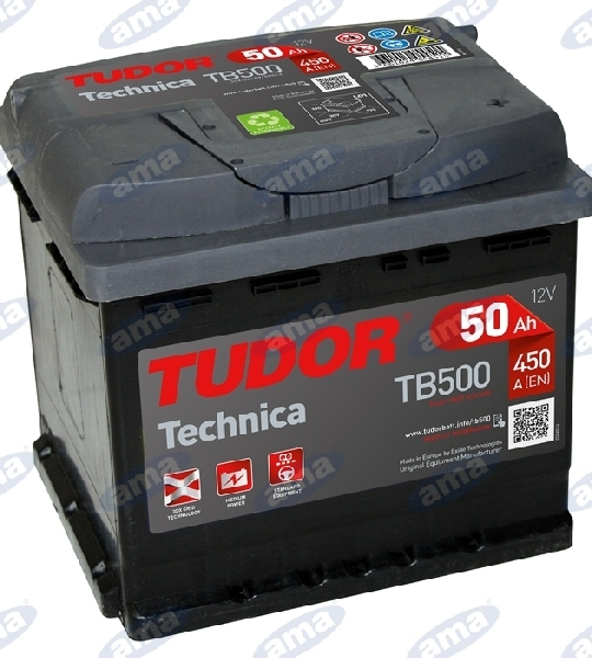 64001-BATTERY-50AH,-450A,-207X175X190-DX