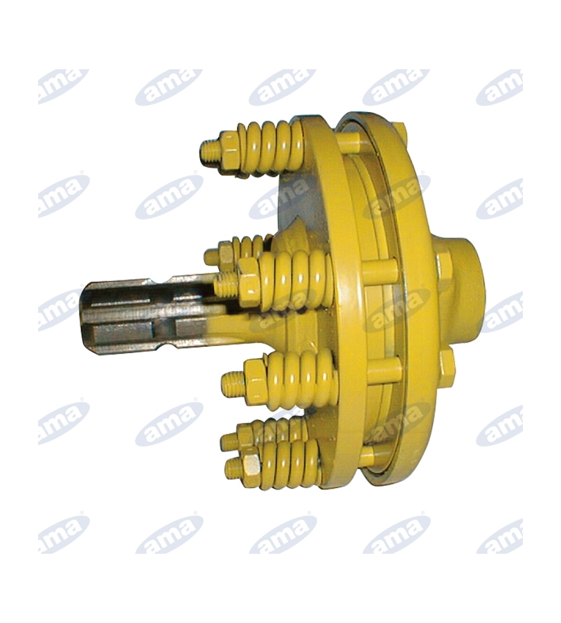 EXTENSION 13/8 Z6 MALE-FEMALE COMPLETE WITH FRICTION DISC LIMITER NM 1500